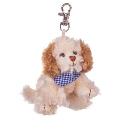 Плюшенa играчка - ключодържател кученце, 12 см.