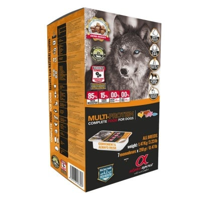 """Alpha Spirit Multi Protein"" - Полусуха храна за кучета - различни разфасовки"
