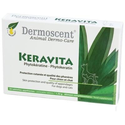 KERAVITA FOR DOFS AND CATS – таблетки за кучета и котки, за подхранване на козината и ноктите 30таб