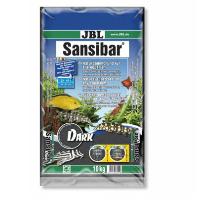 JBL Sansibar DARK -10кг - дънен, подхранващ субстат за сладководни или соленоводни аквариуми и териариуми