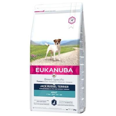 Суха храна за пораснали кучета от породата джак ръсел териер Eukanuba Adult Breed Specific Jack Russell Terrier, 2.00кг