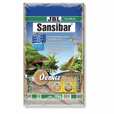 JBL Sansibar ORANGE - 10кг - дънен, подхранващ субстат за сладководни или соленоводни аквариуми и териариуми