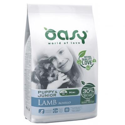 Храна за кучета Oasy Lamb Monoprotein Puppy&Junior Mini за мини породи до 10 месеца, 2.5кг