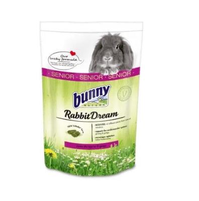 Пълноценна храна за декоративни зайчета след навършване на 6-годишна възраст Bunny SENIOR, 1.50кг