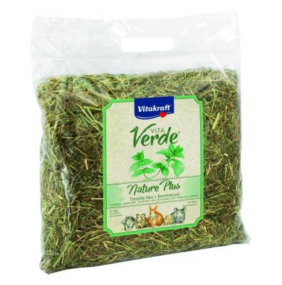 Сено за зайци и гризачи с коприва Vitakraft Vita Verde, 500гр