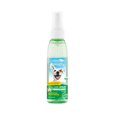 Дентален спрей за кучета Tropiclean Oral Care Spray, с ванилия, 118мл