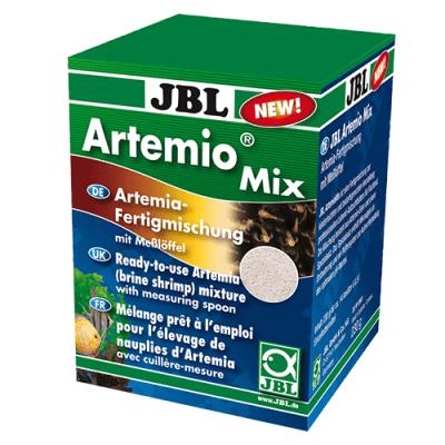 JBL Artemio Mix 200ml - Готова смес за излюпване на артемия - яйца и сол с включена мерителна лъжичка