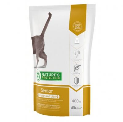 Храна за коте Nature`s Protection Senior - за котки над 10 години