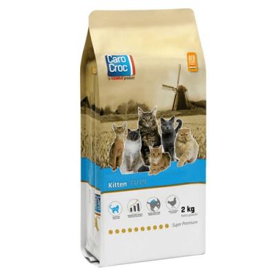 CAROCROC CAT KITTEN 33/19 - Храна за малки котенца от 4 седмици до 12 месеца - три разфасовки