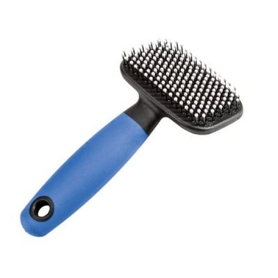 Ferplast -  синя четка за гризачи с пластмасови връхчета