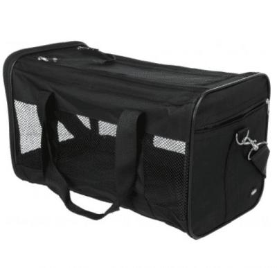 Транспортна чанта за кучета и котки Trixie Royan, черна, два размера