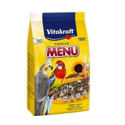 Храна за средни папагали Vitakraft Premium Menu, 1.00кг