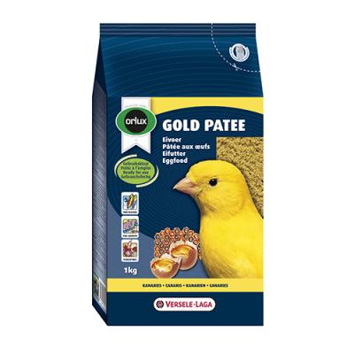 """Gold Patee Yellow Canaries"" - Мека яйчна храна за жълти канари"