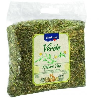 Сено за гризачи с лайка Vita Verde Natur Plus, 500гр