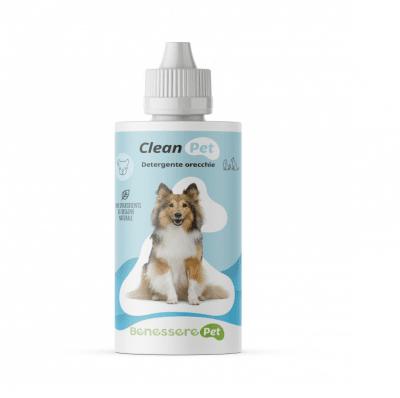 Почистващ препарат за уши на кучета и котки Dynamopet CLEAN PET,100 мл