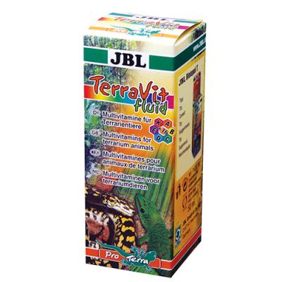 """""""JBL TerraVit Fluid"""" - Мултивитамини за терариумни животни (земноводни, влечуги)"""