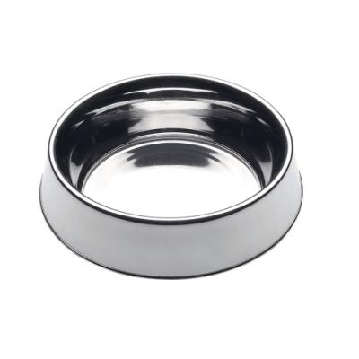Купа от неръждаема стомана за храна и вода - за кучета и котки - различни размери