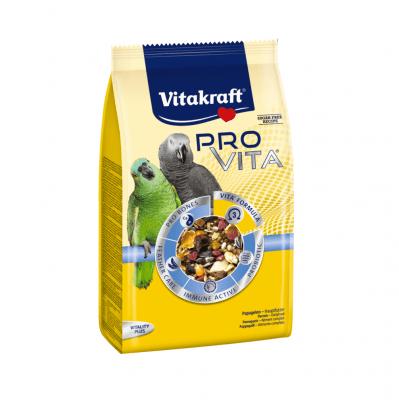 Пълноценна ежедневна храна за големи папагали Vitakraft PRO VITA, 800гр