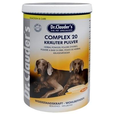 Complex 20  Krauter Pulver - Хранителна добавка за кучета с 20 билки - за жизненост и имунитет