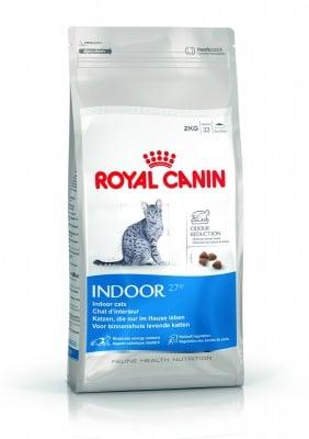 """""""Indoor 27"""" -Храна за котки от 1 до 7 години, с ниска физическа активност"""