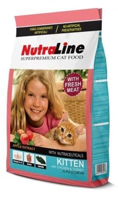 """Nutraline Cat Kitten"" - Храна за котенца до 12 месеца"