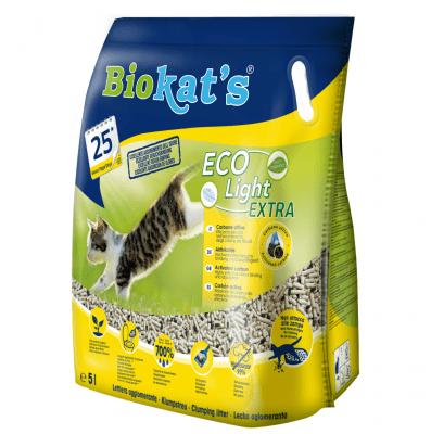 Eкологична котешка тоалетна Biokat's ECO Light EXTRA, 2.90кг