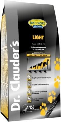 """""""Best Choice Super Premium Light AB"""" – Супер премиум суха храна за кучета с наднормено тегло от всякакви породи"""