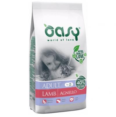 Храна за котка Oasy Cat Adult Lamb с агнешко, 1.5 кг