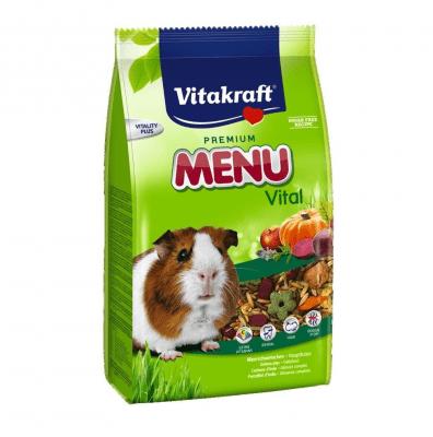 Храна за морско свинче Vitakraft Premium Menu Vital, две разфасовки