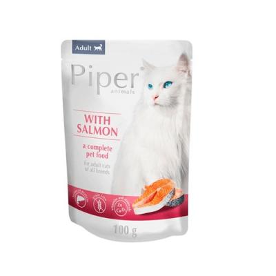 Пауч за котки и малки котенца PIPER, 100 гр - БЕЗ зърно - два вкуса