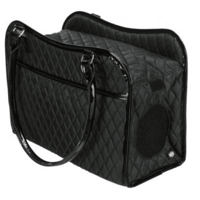 Транспортна чанта за кучета и котки до 5кг Trixie Amina, 18 × 29 × 37см, черна