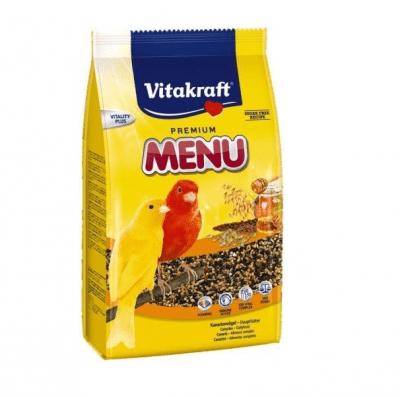 Храна за канарчета с мед Vitakraft Premium Menu Vital, две разфасовки