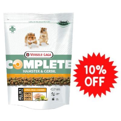 Храна за хамстери и джербили Versele-Laga Complete Hamster & Gerbil, 500гр