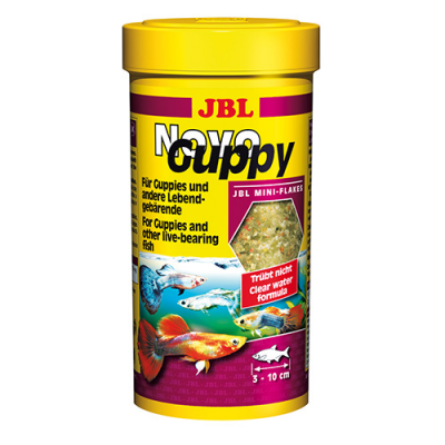 JBL NovoGuppy 100ml; 250мл - Основна храна за гупи - люспи