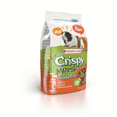 """Versele-Laga Crispy Muesli - Guinea Pigs (Cavia Crispy)"" - Пълноценна храна за морски свинчета"