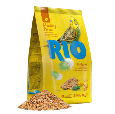 Храна за вълнист папагал за оперение, RIO, 1kg