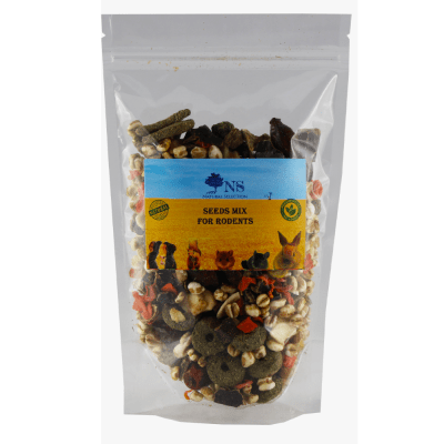 Храна за гризачи микс от семена и шипки Natural Selection, 120гр