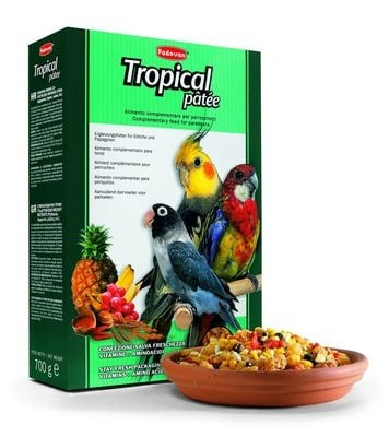"""Tropical pâtée"" - Тропически плодове за средни папагали"