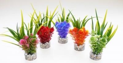 """""""Nano Fiesta Flower"""" - Изкуствено растение за аквариум"""