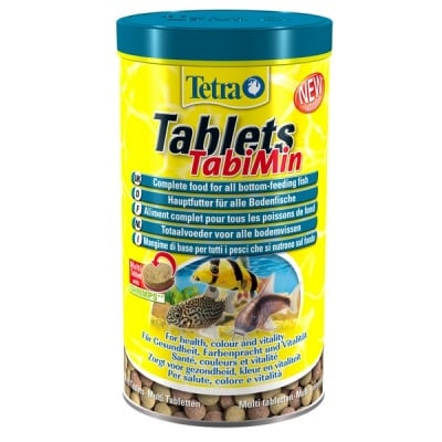 Tetra Tablets TabiMin - Балансирана храна на таблетки - различни разфасовки