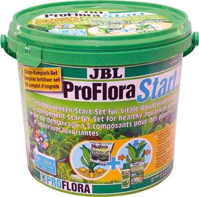 """""""ProFloraStart Set"""" - Три-компонентен стартиращ комплект за силни аквариумни растения"""