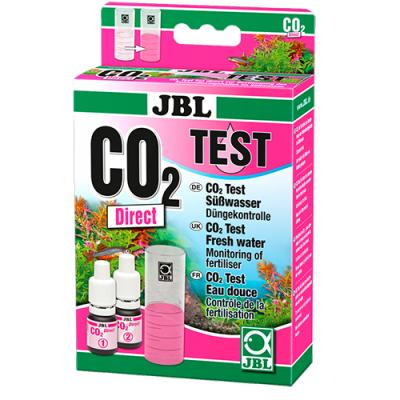 """""""JBL CO2 Direct Test-Set"""" - Тест за бързо и точно измерване на нивата на въглероден диоксид в аквариумната вода"""