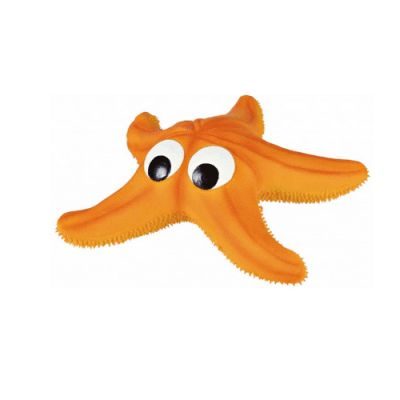 Играчка за куче Морска звезда със звук латекс - 23 cм.