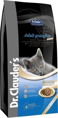 Супер премиум беззърнена суха храна за котки