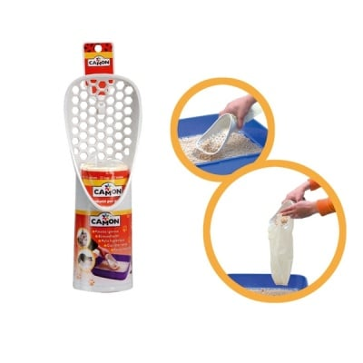 """""""Camon"""" - Лопатка за почистване на котешки тоалетни"""