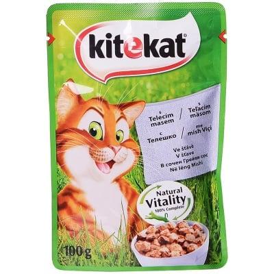 """Kitekat"" - Пауч за котки в сос грейви - различни вкусове"