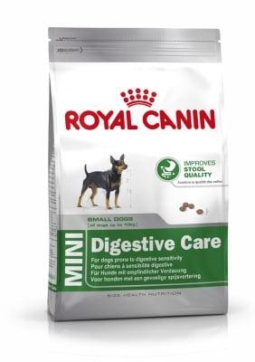 """""""Royal Canin MINI Digestive care"""" - Суха храна за кучета от малки породи"""