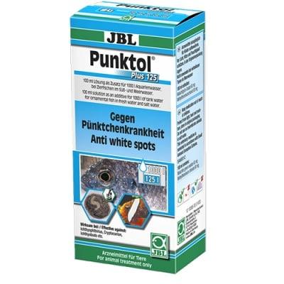 """""""JBL Punktol Plus 125"""" - Препарат срещу """"Белите точки"""" и други ектопаразити по сладководни и соленоводни аквариумни риби"""