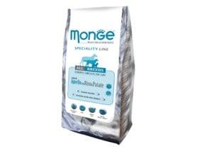 """""""MONGE"""" - Храна с агнешко за слабо активни кучета"""