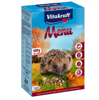 Пълноценна храна за таралежи Vitakraft menu, 600гр